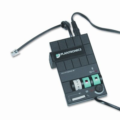 Plantronics MX-10 Headset Switcher Multimedia Amplifier
