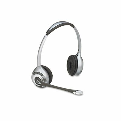 Plantronics Binaural Over-The-Head Wireless Headset