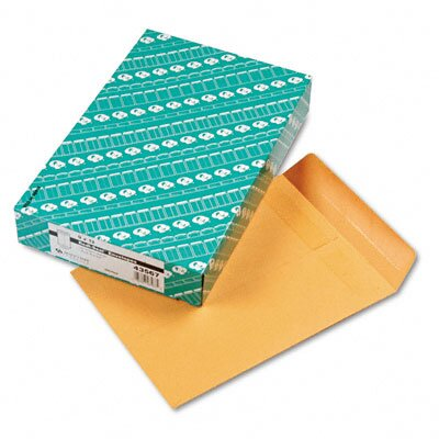 Quality Park Products Redi-Seal Catalog Envelope, 9 x 12, Light Brown, 100/box