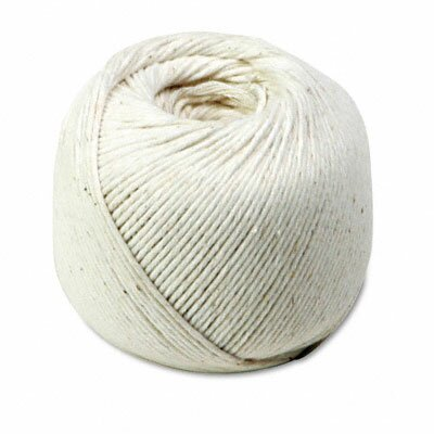 Quality Park Products White Cotton 10-Ply (Medium) String In Ball, 475 Feet