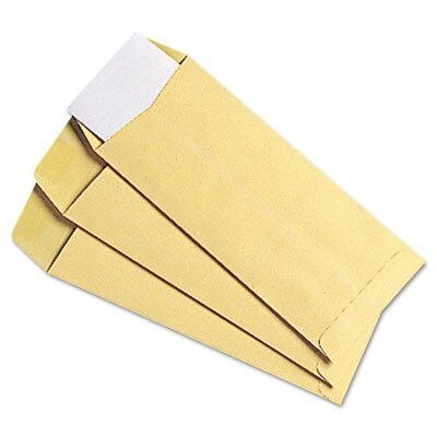 Quality Park Products Cameo Buff Policy Envelope, Side Seam, #10, Natural, 500/box