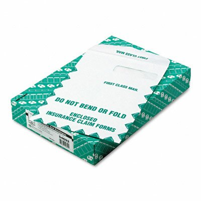 Quality Park Products Redi-Seal Insurance Envelope, First Class, Side Seam, 9 x 12 1/2, White, 100/box