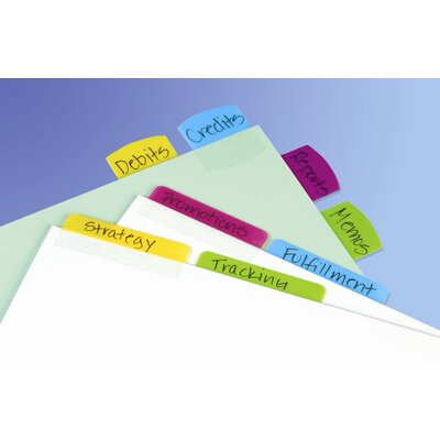 "Redi-Tag Corporation 48 Count 2"" Multicolor Index Tab"