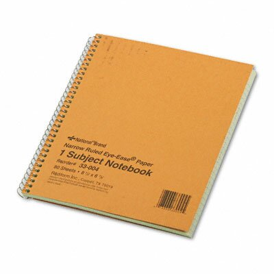 Rediform Office Products Subject Wirebound Notebook, 80 Sheets/Pad