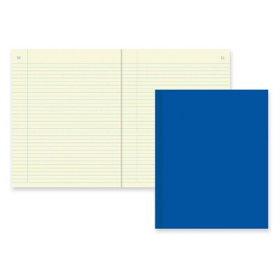"Rediform Office Products Chemistry Notebook,NR w/ Margin, 60 Sheets , 11""x8-1/2"", Blue Cover"