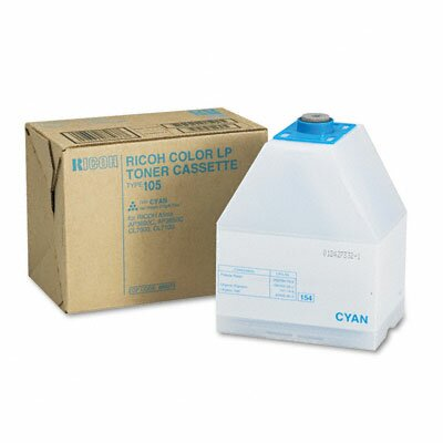 Ricoh® 885375 Toner Cartridge, Cyan