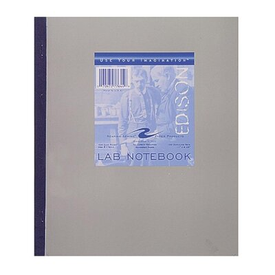 "Roaring Spring Paper Products Lab Notebook, Carbonless, 4""x4"", 100 Sheets, Tape Bound"
