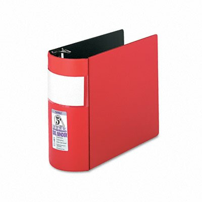 "Samsill Corporation Top Performance Dxl Locking Binder with Label Holder, 5"" Capacity"