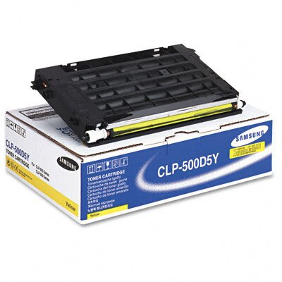 Samsung CLP500D5Y Laser Print Cartridge, Yellow