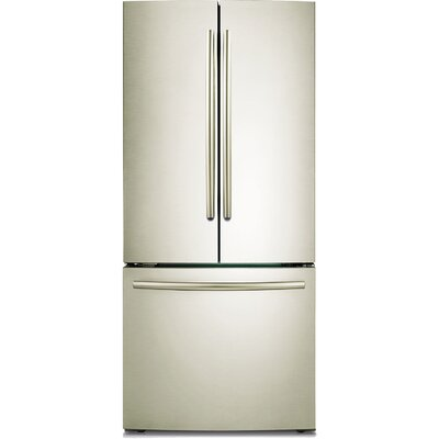 "Samsung Energy Star 22 Cu. Ft. 30"" French Door Refrigerator with Freezer Drawer"