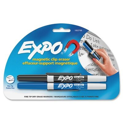 Sanford Ink Corporation Dry Erase Markers and Magnetic Clip Eraser