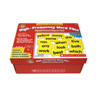 Scholastic Little Red Tool Box High Frequency