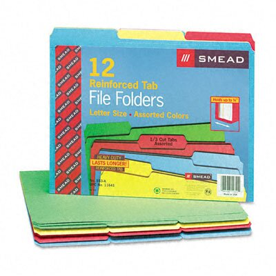 Smead Manufacturing Company File Folders (12/Pack)