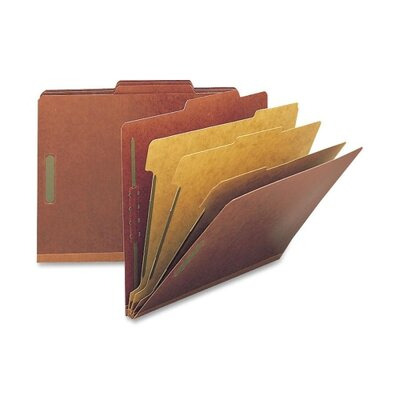 "Smead Manufacturing Company Folders, Letter, 3 Partition, 3"" Expansion, Letter, Red"
