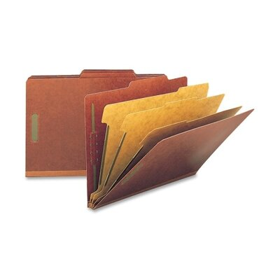 "Smead Manufacturing Company Folders, Legal, 3 Partition, 3"" Expansion, Legal, Gray"