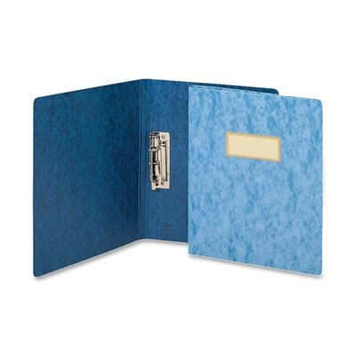"Smead Manufacturing Company Recycled Punchless Report Cover, 1/2"" Sheets Capacity, 11""x8-1/2"", Blue"