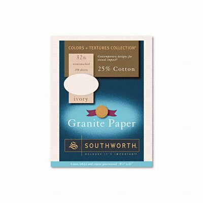 Southworth Company Granite Specialty Paper, 250/Box