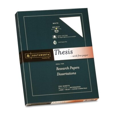 Southworth Company Exceptional Thesis Paper