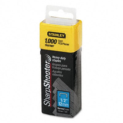 Stanley Bostitch Sharpshooter Staples, 1,000/Box