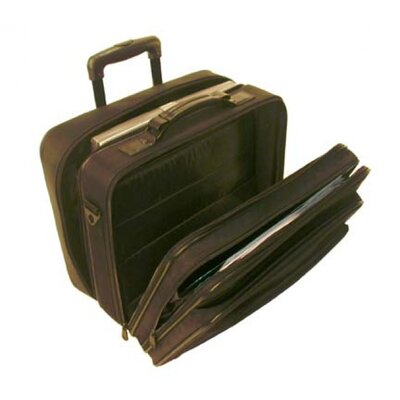 Stebco LLC Dual Function Nylon Rolling Laptop Case