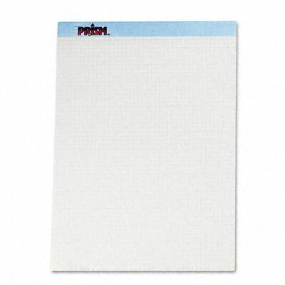 "Tops Business Forms Prism+ Quadrille Perforated Pads, 8-1/2"" x 11-3/4"", 50 Sheets, 12-Pack, Blue"