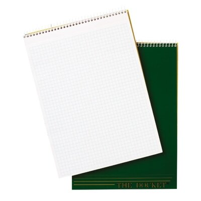 Tops Business Forms Tops Docket Top Wire Quadrille Pad