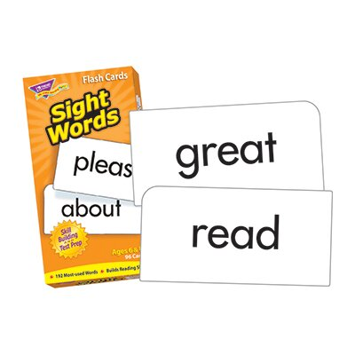 Trend Enterprises Flash Cards Sight Words 96/box