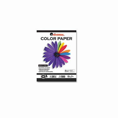 Universal® Colored Paper, 500 Sheets/Ream