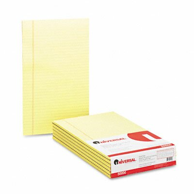 Universal® Glue Top Writing Pads, 12/Pack