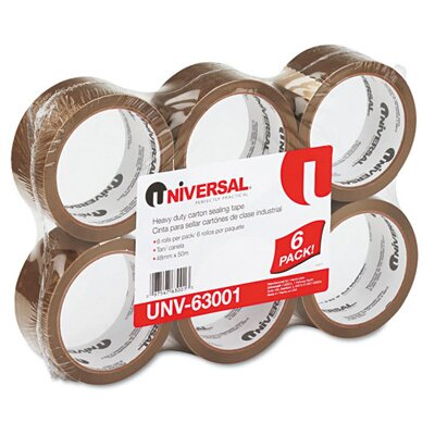 Universal® Box Sealing Tape in Tan