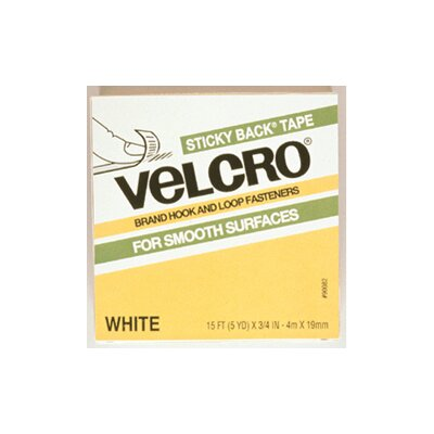 VELCRO USA Inc Velcro Tape 3/4 X 4 Strips White