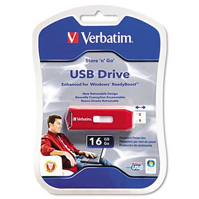 Verbatim Corporation Store and Go 4GB USB Drive