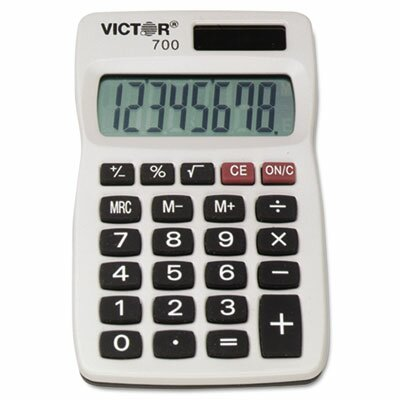 Victor Technology 8-Digit Calculator, 8-Digit Lcd