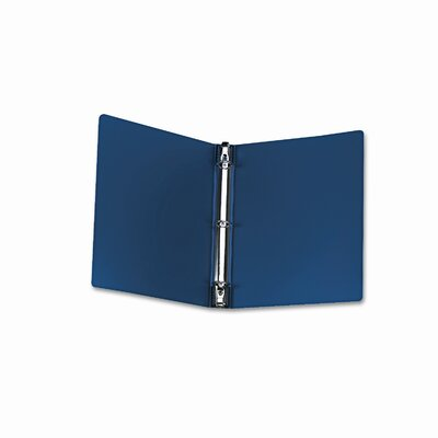 "Wilson Jones Hanging Dubllock Round Ring Poly Binder,11 X 8-1/2, 1"" Capacity"