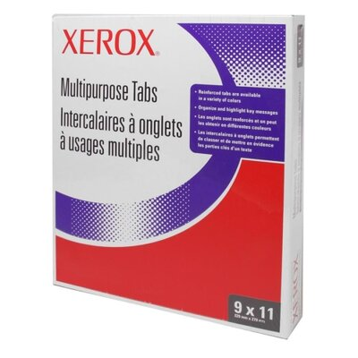 Xerox® Copier Tabs,Single Reverse Collated,Unpunched,50 ST/PK,WE