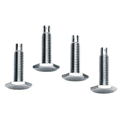 Middle Atlantic Threaded Leveling Feet (Set of 4)