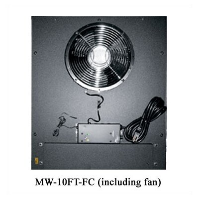 "Middle Atlantic WRK-SA Series 10"" Top Fan"