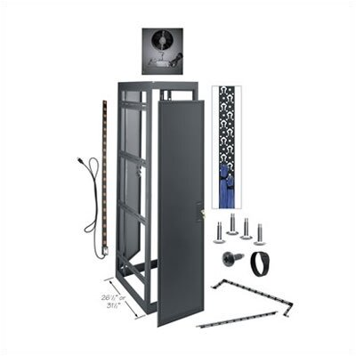 "Middle Atlantic MRK Series Gangable Configured A/V Enclosure (44U Space, 26.5"" D)"