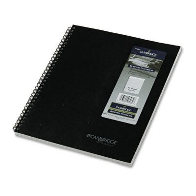 Mead Cambridge Limited Cambridge 1-Subject Wirebound Business Notebook, Legal Rule, 80 Pages