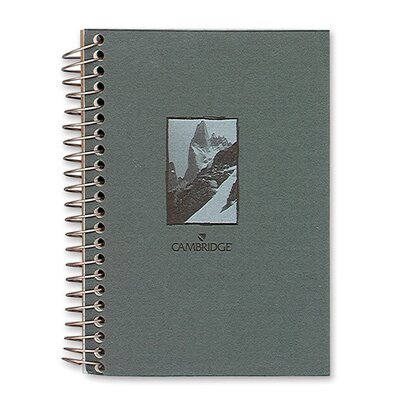 "Mead Notebook, Wirebound, College Ruled, 140 Sheets, 5""x7"", Design Cover"