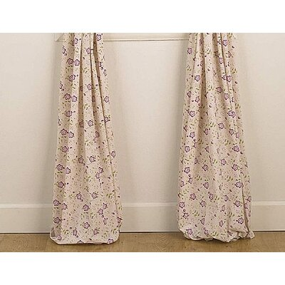 CoCaLo Baby Sugar Plum Window Tab Top Drape Panel Pair