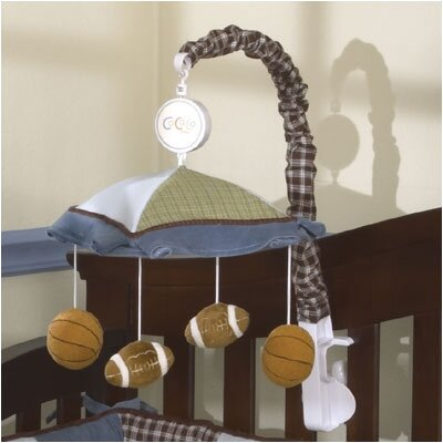 CoCaLo Baby Sports Fan Musical Mobile
