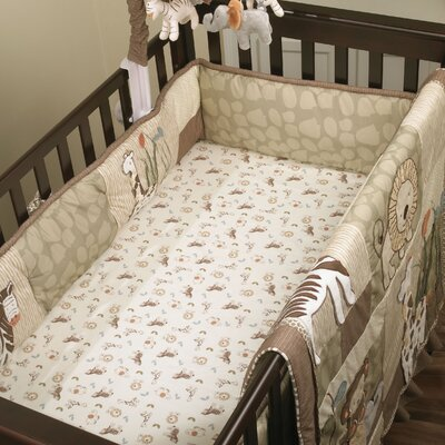 Azania Fitted Crib Sheet
