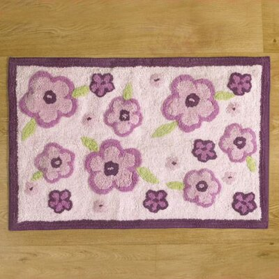 CoCaLo Baby Sugar Plum Flower Kids Rug