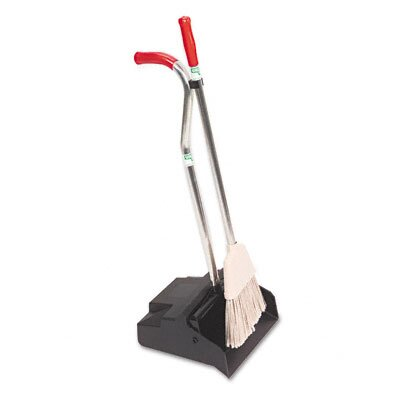 Unger Ergo Dustpan With Broom, 12 Wide