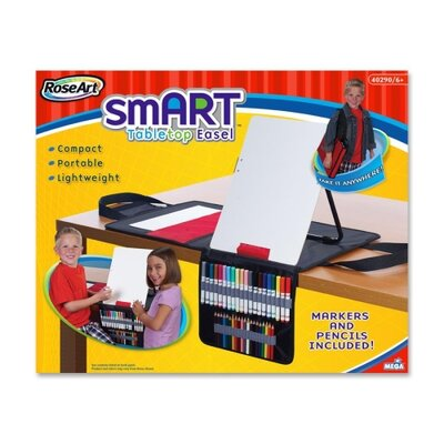 The Board Dudes Tabletop Smart Art Dry-erase Easel, Table Top, Smart Art, Assorted