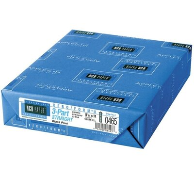 NCR Paper Carbonless Paper,3-Part Str,500/PK&lt;8-1/2&quot;x11&quot;,WE/CY/PK