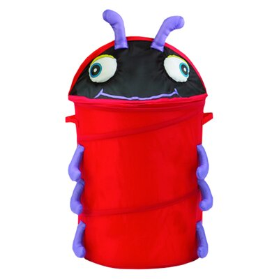 The Original Bongo Bag Lady Bug Pop Up Hamper
