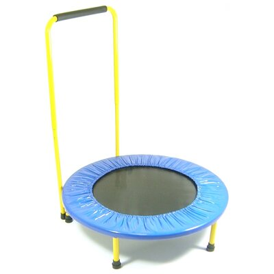 Redmon for Kids Fun and Fitness for Kids - Trampoline With Handle Bar