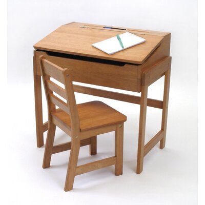 "Lipper International 25"" W Art Desk and Chair"